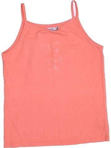 T-shirt sans manches fille OKAIDI rose 12 ans été #1378647_1