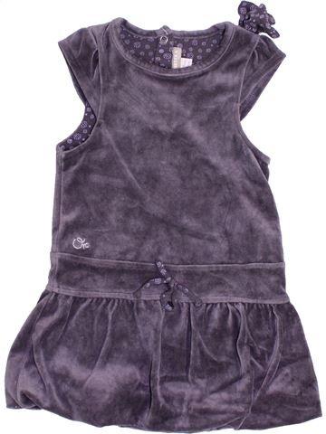 Robe fille ORCHESTRA violet 2 ans hiver #1379299_1