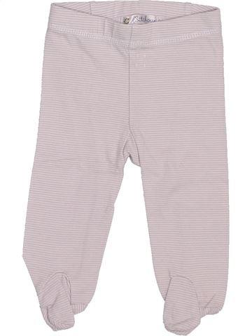 Pantalon unisexe KIABI rose 3 mois été #1379321_1