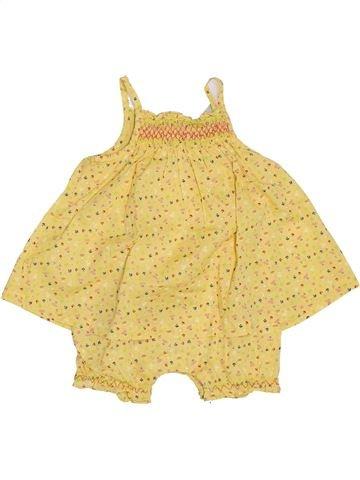 Combinación larga niña ORCHESTRA amarillo 9 meses verano #1379760_1