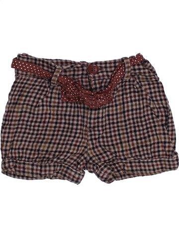 Short-Bermudas niña 3 SUISSES marrón 2 años verano #1379879_1