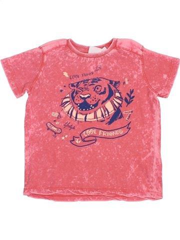 T-shirt manches courtes garçon ZARA rose 3 ans été #1380268_1