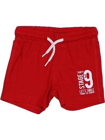 Short-Bermudas niño GENERATION Z rojo 12 meses verano #1380435_1