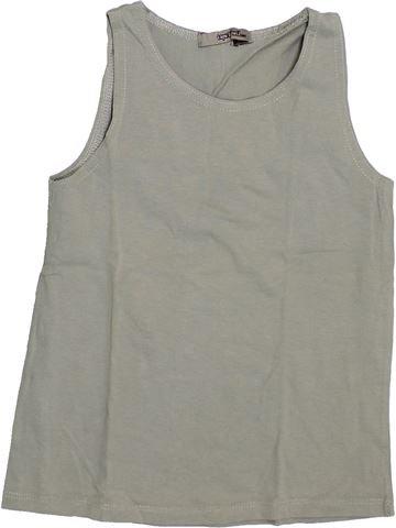 T-shirt sans manches fille TAPE À L'OEIL gris 6 ans été #1380481_1