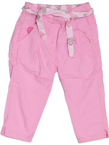 Pantalón niña SUCRE D'ORGE rosa 12 meses verano #1380675_1