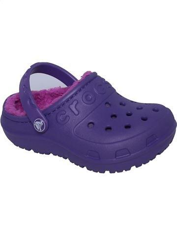 Sandalias niña CROCS violeta 24 verano #1381038_1