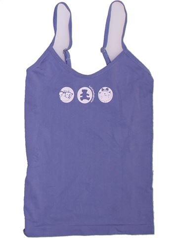 T-shirt sans manches fille LULU CASTAGNETTE violet 5 ans été #1381497_1