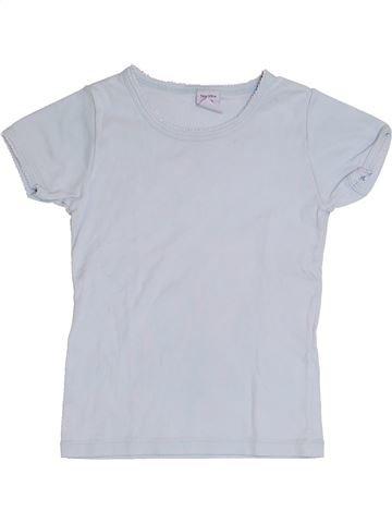 T-shirt manches courtes garçon PETIT BATEAU blanc 5 ans été #1382425_1