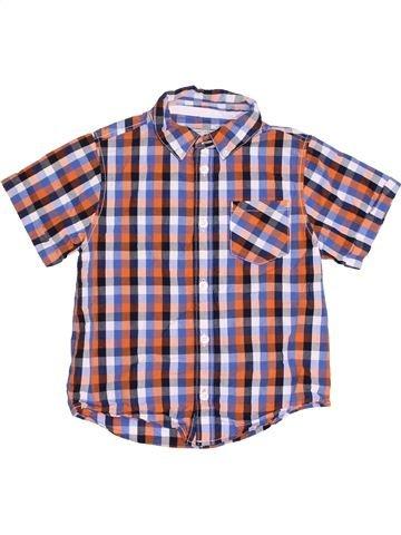 Chemise manches courtes garçon BOYS violet 5 ans été #1382554_1