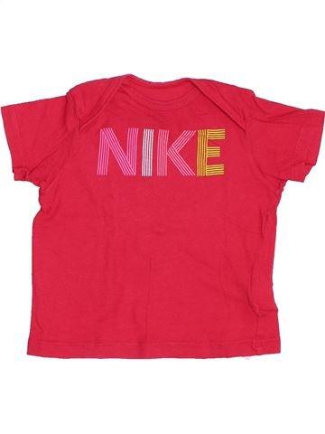 Camiseta de manga corta niña NIKE rosa 12 meses verano #1382579_1