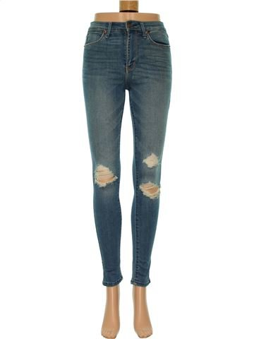 Jean femme ABERCROMBIE & FITCH 34 (S - T1) hiver #1383149_1