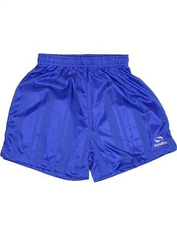 Short de sport garçon SONDICO bleu 5 ans été #1383508_1
