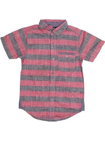 Chemise manches courtes garçon TU violet 5 ans été #1383533_1