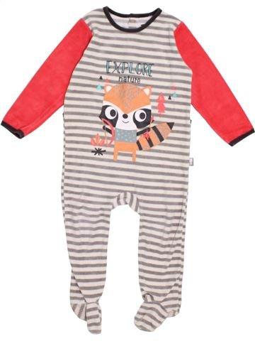 Pyjama 1 pièce garçon PETIT BÉGUIN rose 2 ans hiver #1383808_1
