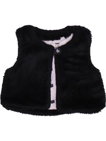 Gilet fille MARÈSE noir 18 mois hiver #1384374_1