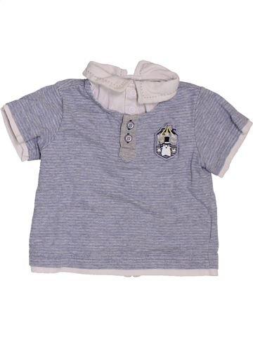 Polo de manga corta niño CHICCO gris 12 meses verano #1385448_1