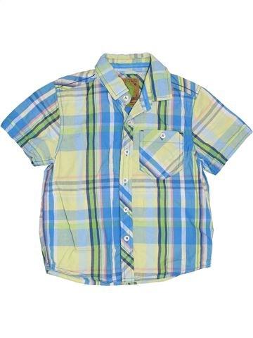 Chemise manches courtes garçon NEXT bleu 5 ans été #1385470_1
