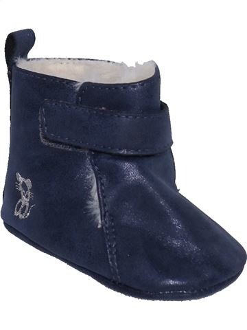 Zapatos bebe niña OKAIDI azul 12 meses invierno #1385928_1
