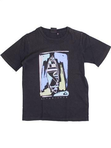 T-shirt manches courtes garçon QUIKSILVER noir 8 ans été #1386422_1