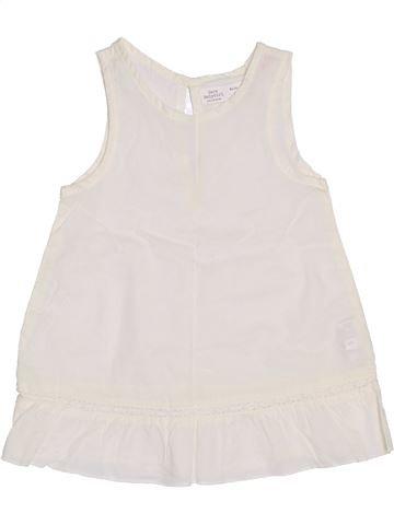 Túnica niña ZARA blanco 12 meses verano #1386429_1