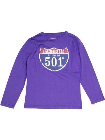 Camiseta de manga larga niño LEVI'S violeta 10 años invierno #1386507_1