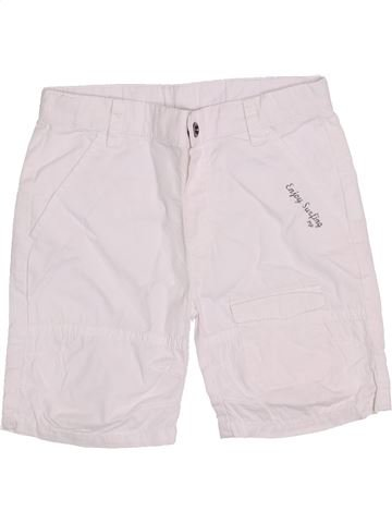 Short - Bermuda garçon 3 POMMES blanc 18 mois été #1386701_1