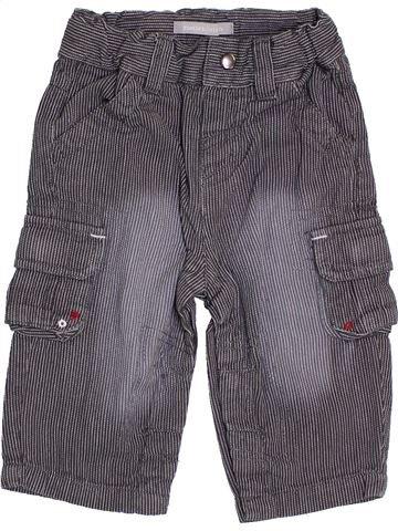 Pantalón niño 3 SUISSES azul 9 meses verano #1386758_1