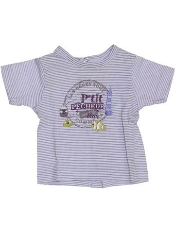 Camiseta de manga corta niño LES BEBES SONT COMME ÇA azul 1 mes verano #1387315_1
