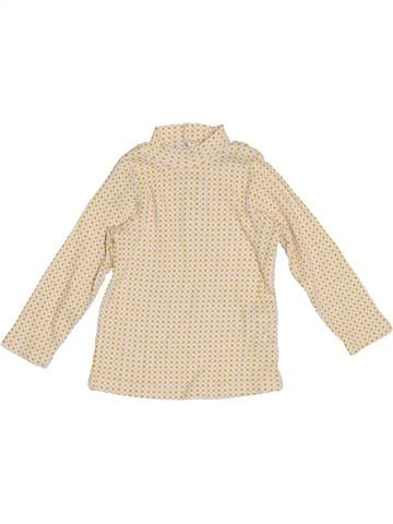 T-shirt manches longues fille OKAY beige 6 mois hiver #1387917_1