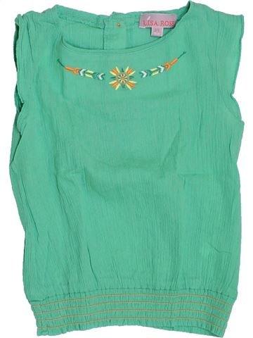 Blusa de manga corta niña LISA ROSE verde 3 años verano #1388210_1