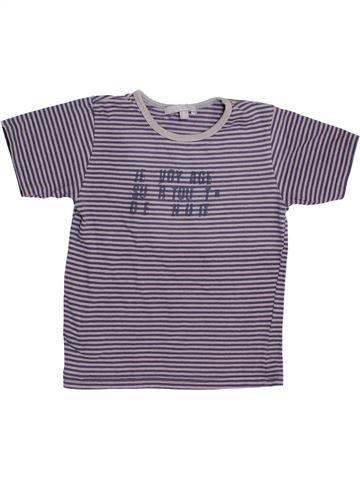 T-shirt manches courtes garçon YCC-214 violet 5 ans été #1388638_1