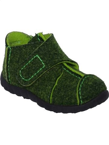 Pantuflas niño SUPERFIT verde 21 invierno #1388642_1