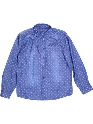 Chemise manches longues garçon MONOPRIX bleu 12 ans hiver #1388970_1