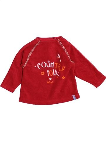 Pull fille ALPHABET rouge 12 mois hiver #1390194_1