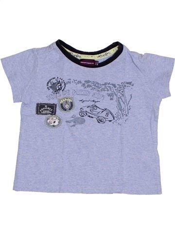 T-shirt manches courtes garçon SERGENT MAJOR gris 2 ans été #1390344_1