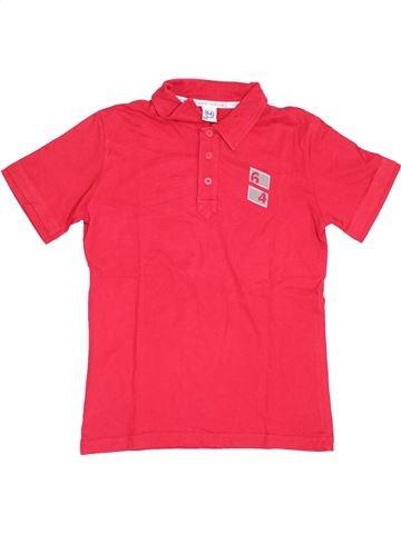 Polo manches courtes garçon 64 rouge 12 ans été #1390361_1
