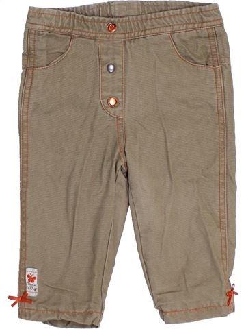 Pantalon fille SUCRE D'ORGE marron 9 mois hiver #1390451_1