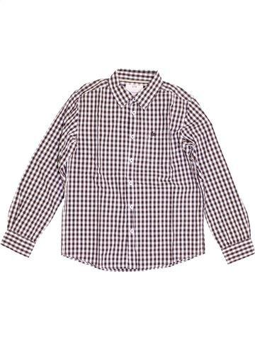 Chemise manches longues garçon CFK blanc 12 ans hiver #1390488_1
