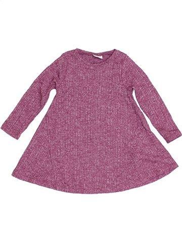 Túnica niña F&F violeta 2 años invierno #1390887_1
