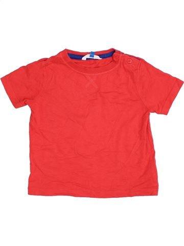 Camiseta de manga corta niño JOHN LEWIS naranja 3 años verano #1391412_1