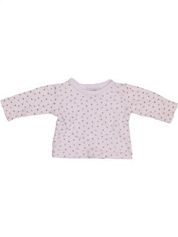 T-shirt manches longues unisexe BEBE BONITO blanc naissance hiver #1391825_1