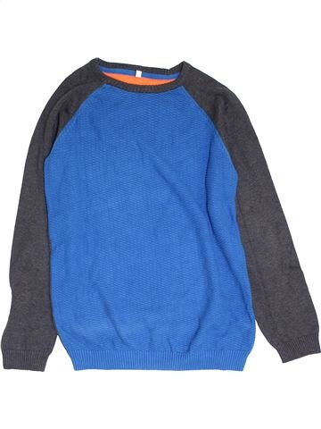 Pull garçon MARKS & SPENCER bleu 14 ans hiver #1392241_1