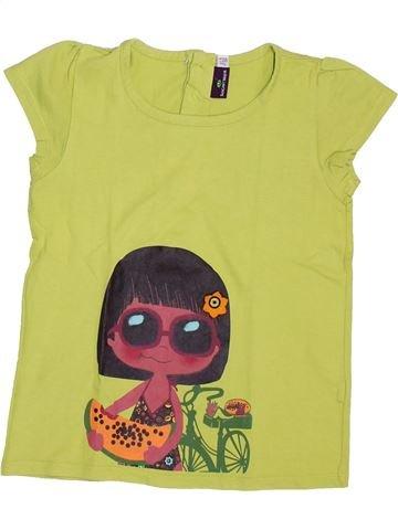 T-shirt manches courtes fille SERGENT MAJOR vert 7 ans été #1392775_1