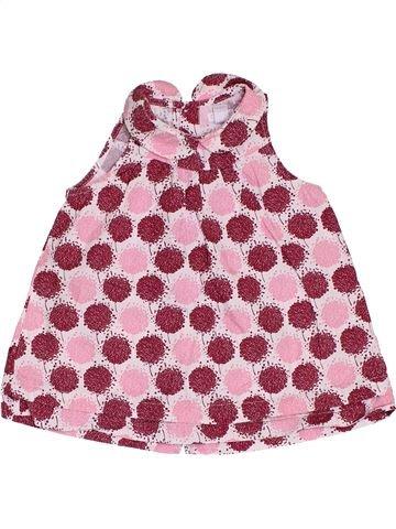Robe fille OKAIDI rose 6 mois hiver #1393094_1