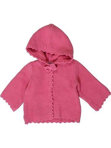 Chaleco niña JACADI rosa 6 meses invierno #1393131_1