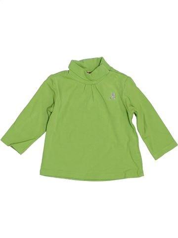 Camiseta de cuello alto niña MAYORAL verde 3 meses invierno #1393190_1