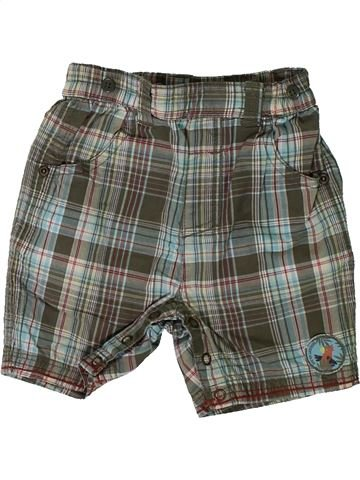 Short - Bermuda garçon SERGENT MAJOR gris 12 mois été #1393331_1