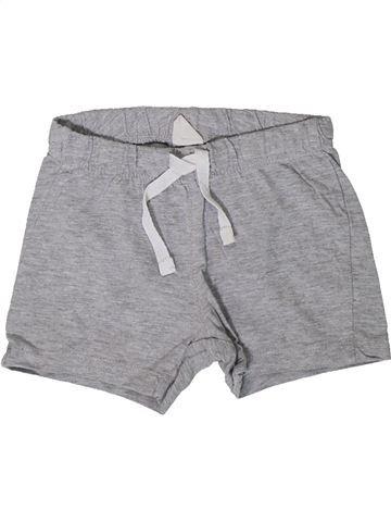 Short - Bermuda garçon H&M gris 12 mois été #1393724_1