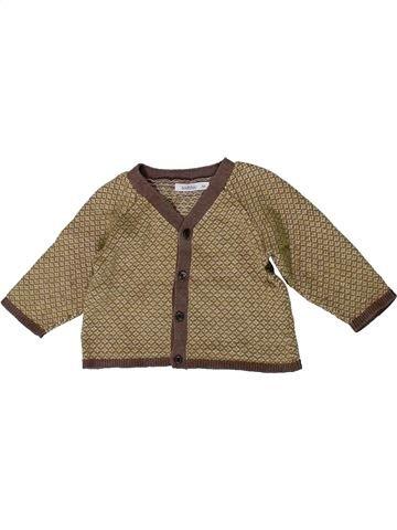 Chaleco niño BOUT'CHOU marrón 6 meses invierno #1393890_1
