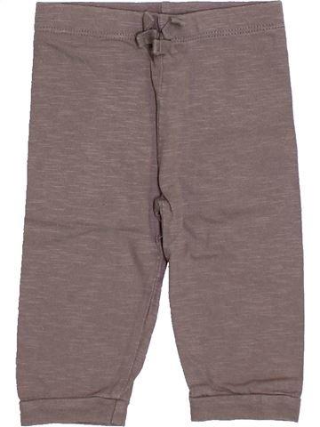 Pantalón niña BOUT'CHOU marrón 6 meses verano #1393982_1